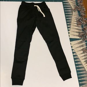 Pants - Black joggers - women